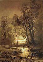 Brook in a Forest, vasilyev