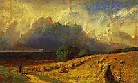 Cloud. Study, vasilyev