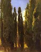 Cypresses in the Crimea, vasilyev