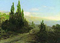 Evening in the Crimea, 1873, vasilyev