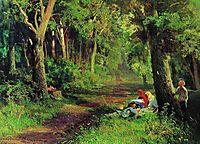 Forest Road, 1869, vasilyev