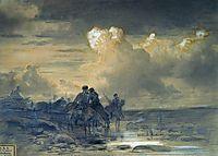 Horses at the Watering, 1869, vasilyev