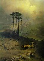 In the Mountains of the Crimea, 1873, vasilyev