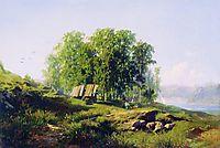 In the Vicinity of St. Petersburg, 1868, vasilyev