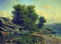 Landscape. Pargolovo, 1868, vasilyev