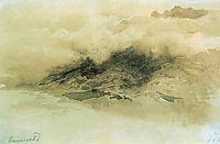 Mountains in the Clouds, 1873, vasilyev