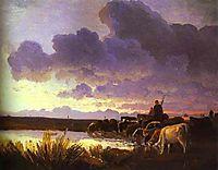 Near a Watering Place, 1868, vasilyev