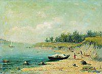 On the Bank of the Volga, 1870, vasilyev