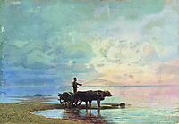 On the Beach, 1873, vasilyev