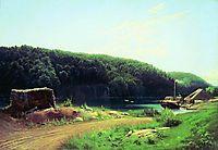 On the Island Valaam, 1869, vasilyev