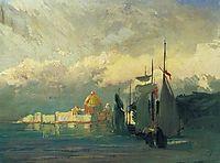 On the Neva, 1871, vasilyev