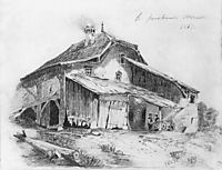 Peasants Hut, 1863, vasilyev