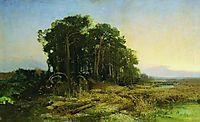 Pine Grove in the Swamp, 1873, vasilyev