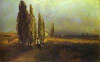 Poplars, 1870, vasilyev
