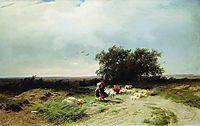 Return of the Herd, 1868, vasilyev
