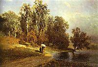 River in Krasnoye Selo, 1870, vasilyev