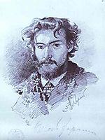 Self-Portrait, 1873, vasilyev