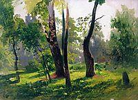 Trees. Study, 1870, vasilyev