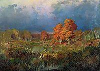 Vassiliev Swamp in the Forest, 1873, vasilyev