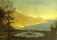 View from Eriklik. Study, 1872, vasilyev