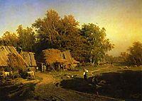 Village, 1869, vasilyev