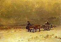 Winter in the Crimea, 1873, vasilyev