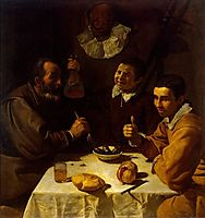 Breakfast, 1618, velazquez
