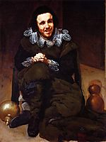 The Buffoon Calabacillas, mistakenly called The Idiot of Coria, 1639, velazquez