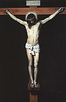 Christ on the Cross, 1632, velazquez