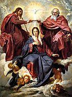 Coronation of the Virgin, 1644, velazquez