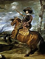 The Count-Duke of Olivares on Horseback, 1634, velazquez