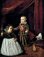 Don Baltasar Carlos with a Dwarf, 1632, velazquez