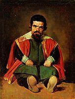 Don Sebastian de Morra, c.1645, velazquez