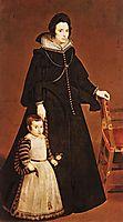 Dona Antonia de Galdós and his son Luis Ipeñarrieta, 1631, velazquez