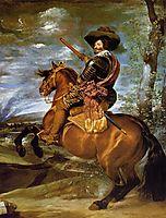 Equestrian Portrait of Don Gaspar de GuzmanCount Duke of Olivares, 1634, velazquez