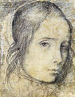Head of a young girl, 1618, velazquez