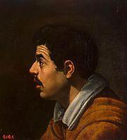Human head, 1616, velazquez