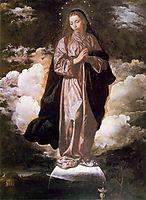 Immaculate Conception, 1618, velazquez