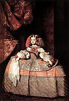 Infanta Doña Margarita de Austria, 1660, velazquez