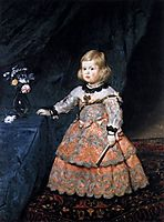 Infanta Margarita, 1654, velazquez