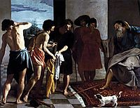 Jacob Receiving Joseph-s coat, 1630, velazquez