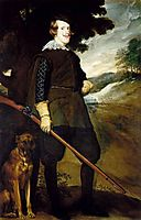 King Philip IV as a Hunter, 1634-35, velazquez
