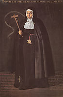 Madre Maria Jeronima de la Fuente, 1620, velazquez