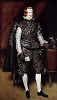 Philip IV in Brown and Silver, 1631-32, velazquez