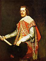 Philip IV, King of Spain, 1644, velazquez