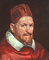 Pope Innocent X, 1650, velazquez
