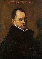 Portrait of a Cleric, 1623, velazquez
