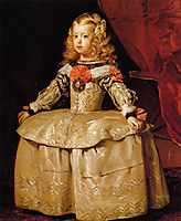 Portrait of the Infanta Margarita Aged Five, 1656, velazquez