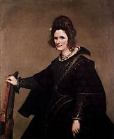 Portrait of a Lady, 1633, velazquez