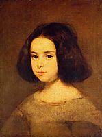 Portrait of a Little Girl, c.1640, velazquez